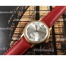 DEMAX Vintage hand winding watch 17 jewels Plaqué OR *** New Old Stock ***