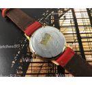 DEMAX Reloj NOS suizo antiguo de cuerda 17 rubis Plaqué OR *** Nuevo de antiguo Stock ***