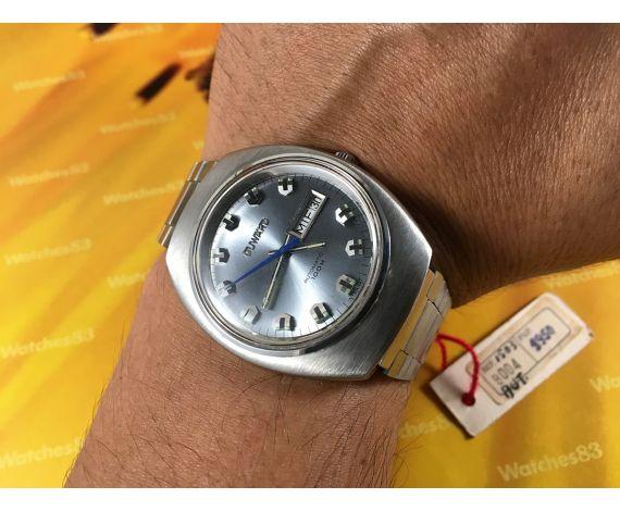 Duward NOS Reloj suizo automatico 100m OVERSIZE 25 jewels Cal ETA 2789 *** NUEVO DE ANTIGUO STOCK ***