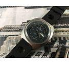Aquastar Genève Seatime Reloj suizo antiguo automático Diver *** COLECCIONISTAS ***