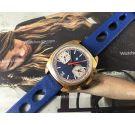 LIP Rallye Reloj cronógrafo antiguo de cuerda Racing Valjoux 7734 *** ESPECTACULAR ***