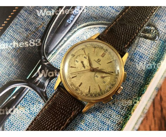 Omega Vintage swiss chronograph manual winding watch Ref BK 2278/1 Cal 320 *** COLLECTORS ***