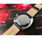 MAJESTIME DIGITAL Vintage swiss Jump Hour hand wind watch New Old Stock *** NOS ***