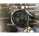Seiko Bullhead Cal 6138 Automatic Reloj cronografo antiguo automático Ref 6138-0040 JAPAN J