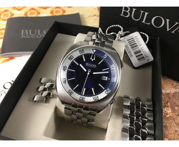 Bulova Accutron II Reloj DIVER 200m (20 ATM) Snorkel 96B209 + ESTUCHE *** ESPECTACULAR ***