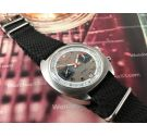 JOPEL Vintage chronograph hand wind watch RACING Valjoux 7734 *** COLLECTORS ***