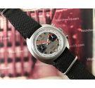 JOPEL Reloj cronógrafo antiguo de cuerda RACING Valjoux 7734 *** COLECCIONISTAS ***
