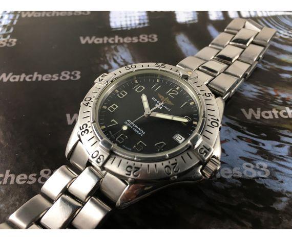 Breitling Colt 300M 1000FT 30ATM Reloj vintage suizo automatico A17035 *** ESPECTACULAR ***