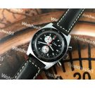 NOS Chateau Vintage swiss chronograph hand wind Cal Swiss EB 8420 *** NEW OLD STOCK ***
