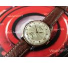 CAUNY Prima La Chaux-de-Fonds Vintage swiss hand wind watch plaqué OR *** OVERSIZE ***