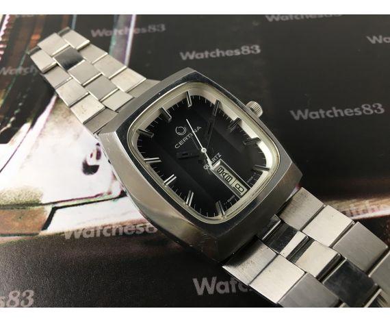 Certina NOS Reloj suizo antiguo de cuarzo *** NUEVO DE ANTIGUO STOCK ***