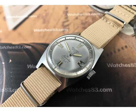 Duward Genève AQUASTAR Grand Air 10 ATM vintage swiss automatic watch *** BEAUTIFUL ***