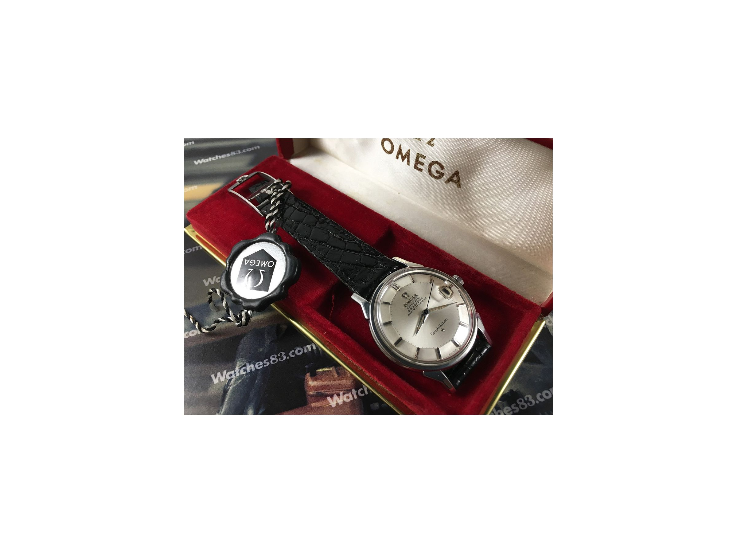 Pie Pan Omega Constellation Chronometer Officially Certified Cal 561
