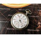 Reloj suizo antiguo de bolsillo Omega 1913 *** DIAL IMPECABLE ***