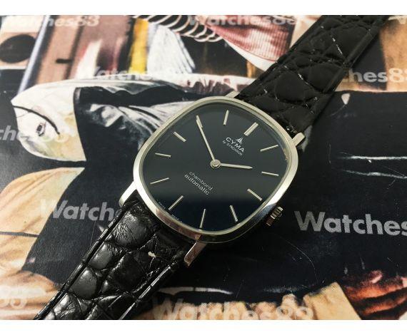 NOS CYMA by Synchron Chambord Automatic Reloj antiguo suizo automático *** Nuevo de antiguo Stock ***