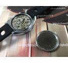 NOS LIP Reloj Cronografo RACING antiguo de cuerda Cal Valjoux 7734 Oversize *** NUEVO DE ANTIGUO STOCK ***