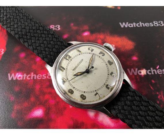 Jaeger LeCoultre militar Reloj suizo antiguo de cuerda *** MUY BONITO ***