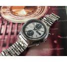 Seiko Dial Panda Ref 6138-8020 Reloj cronografo antiguo automático. Brazalete NOS SEIKO / STELUX *** EXCELENTE ESTADO ***