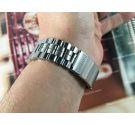Seiko Dial Panda Ref 6138-8020 Vintage automatic chronograph watch. SEIKO / SETELUX NOS Bracelet *** EXCELLENT CONDITION ***