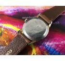 Reloj EXACTUS Precision suizo antiguo de cuerda Plaqué OR *** GRAN DIÁMETRO ***