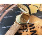 Movado Cal M90 Reloj cronógrafo suizo antiguo de cuerda ORO 14K (0.585) *** SOLO COLECCIONISTAS ***