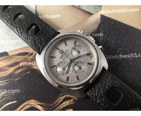 Zenith EL PRIMERO Surf Cal 3019 PHC 36.000 A/h Reloj cronografo suizo vintage automatico *** ESPECTACULAR ***