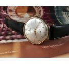 NOS Certina Vintage swiss hand winding watch New old stock 60s Plaqué OR *** SPECTACULAR ***