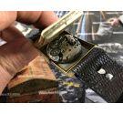 ULTRAMAR Reloj suizo antiguo de cuerda 15 jewels Plaqué OR 10 Microns *** PRECIOSO ***