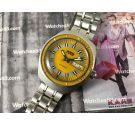 JENNY SWISS Sealab style 20 ATM Reloj diver suizo antiguo automático NOS *** NUEVO DE ANTIGUO STOCK ***