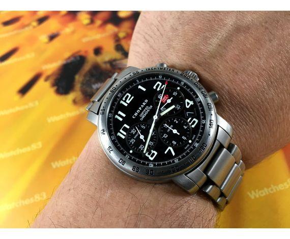 CHOPARD Mille Miglia Titanium 50M swiss automatic watch Ref 8915 Cal ETA 2894-2 *** SPECTACULAR ***