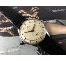 Zenith JUMBO antiguo reloj suizo de cuerda Cal 126-6 + ESTUCHE *** GRAN DIÁMETRO: 38 MM ***