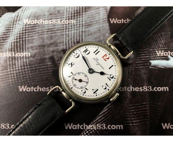 Longines 1913 Reloj suizo antiguo de cuerda Esfera de porcelana Cal 13.34 *** COLECCIONISTAS ***