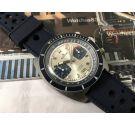 Edox RACING Reloj Cronógrafo suizo antiguo de cuerda Cal Valjoux 7734 ESPECTACULAR *** GRAN DIÁMETRO ***