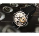 Universal Geneve Polerouter Date Microtor Cal 218-2 Vintage automatic watch 28 jewels *** BLACK DIAL ***