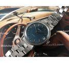 Reloj ZENITH SURF vintage suizo automático Cal 2572 PC Dial Azul *** PRECIOSO ***