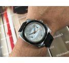 H. GERVIN Reloj cronografo antiguo de cuerda Cal Valjoux 7734 Estética Breitling *** PRECIOSO ***