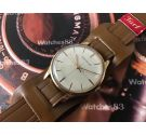 Vintage Jaeger LeCoultre Swiss hand winding watch plaqué OR *** SPECTACULAR ***