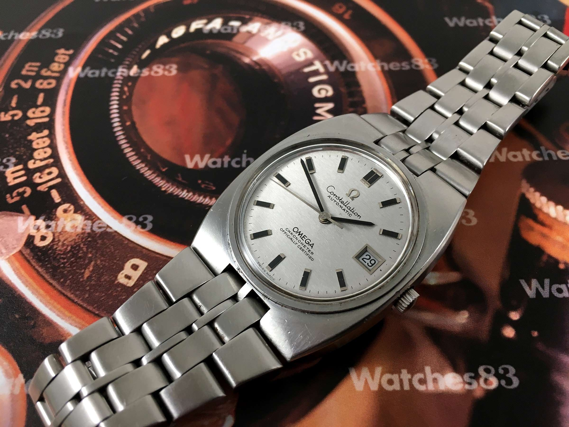 Omega Constellation Chronometer Officially Certified Vintage