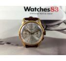 NOS Zodiac Valjoux 92 Reloj cronografo suizo antiguo de cuerda *** NUEVO DE ANTIGUO STOCK ***