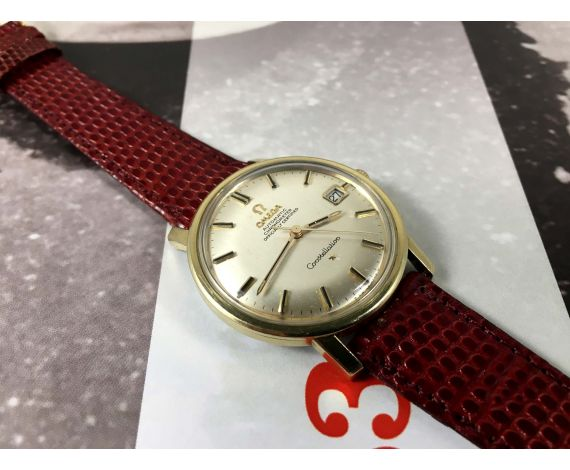 Omega Constellation Chronometer Officially Certified Reloj suizo antiguo automático Cal 564 Ref 168.010 *** PRECIOSO ***