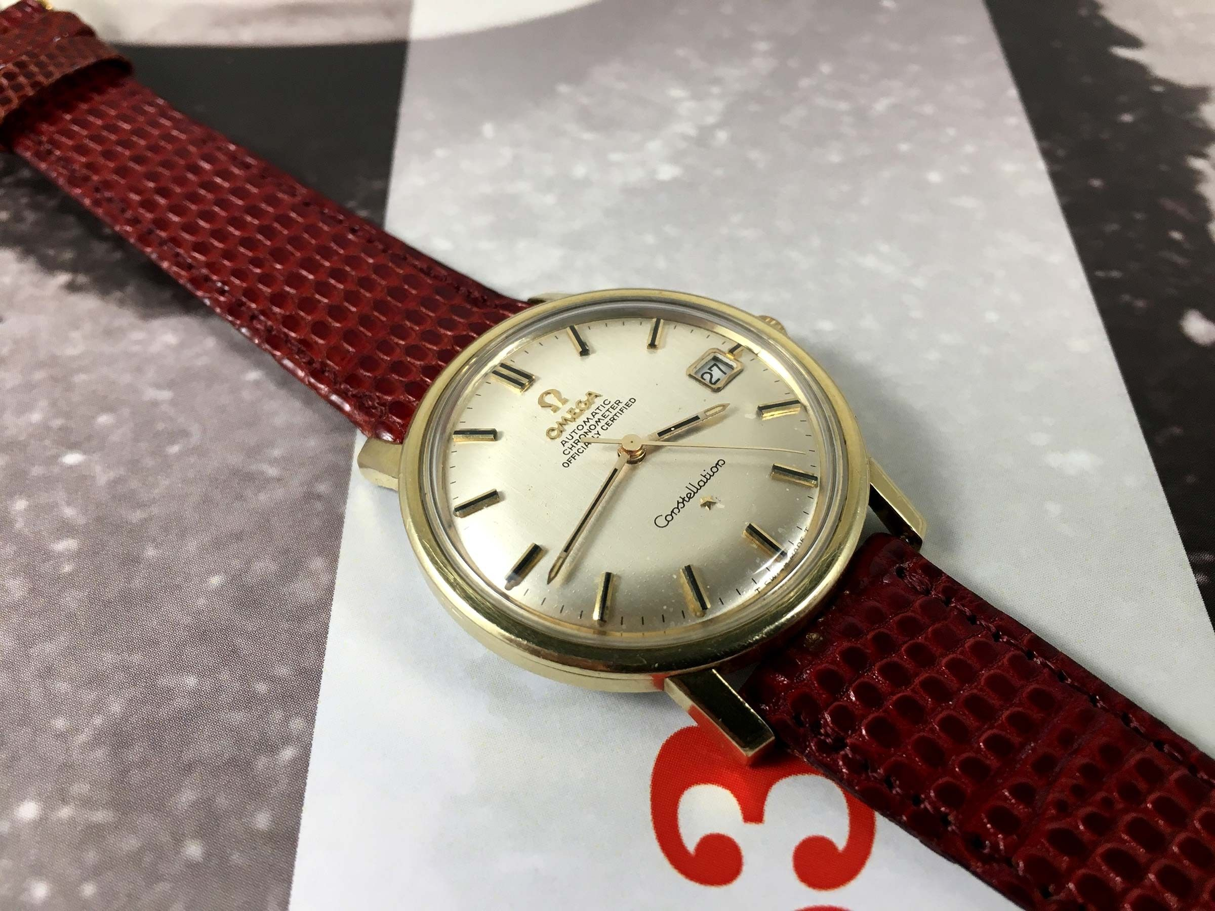 Omega Constellation Chronometer Officially Certified Vintage Swiss