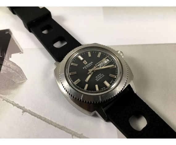 Festina Diver Vintage swiss automatic watch 21 jewels 18 ATM Cal ETA 2789 *** SPECTACULAR ***