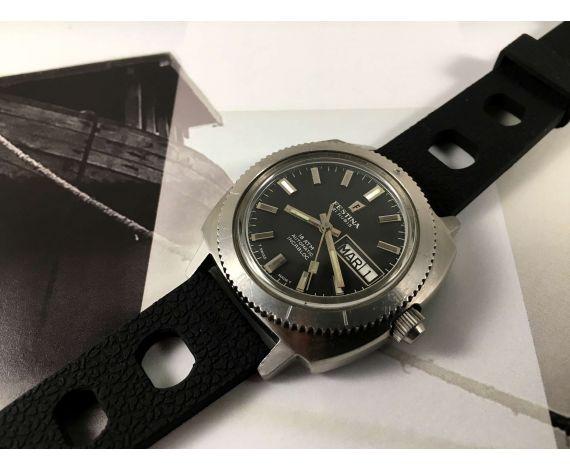 Festina Diver Reloj automático vintage 21 jewels 18 ATM Cal ETA 2789 *** ESPECTACULAR ***