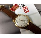 NOS Fortis Vintage swiss manual wind watch OVERSIZE 38 mm Cal AS1130 17 rubis *** NEW OLD STOCK ***