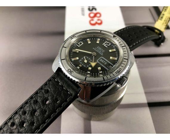 Osco Diver Reloj automático vintage 25 jewels Cal ETA 2789 *** GRAN DIÁMETRO ***
