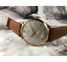 EMYL Vintage swiss hand wind watch OVERSIZE 39 mm Landeron 540 Plaqué OR *** NEW OLD STOCK ***