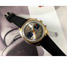 Dugena Racing Reloj suizo cronografo antiguo de cuerda Cal Valjoux 7733 *** RALLYE ***