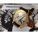NOS LANDI Reloj suizo antiguo de cuerda OVERSIZE Cal AS1130 Esfera texturizada *** NUEVO ANTIGUO STOCK ***
