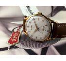 NOS Reloj Duward suizo antiguo de cuerda. Oversize: 38 mm Cal 171 (Unitas 176) *** NEW OLD STOCK ***