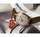 NOS Vintage Duward swiss hand wind watch. Oversize: 38 mm. Cal 171 (Unitas 176) *** NEW OLD STOCK ***
